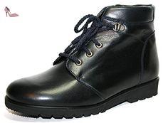 Ganter gabi 851 largeur 76 f bottines pour femme - Bleu - Blau (Nachtblau), 36 / 3.5 EU - Chaussures ganter (*Partner-Link)
