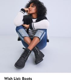 Timberland boots on the wish list.