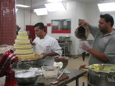 TLC's Cake Boss - Frankie & Buddy working on cakes in season finale. Cake Boss Bakery, Bakery Cakes, Carlos Bakery, Cake Decorating, Decorating Ideas, Cakes And More, Wedding Cakes, Bastille, Pie Cake