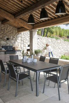 Eine schattige Terrasse - # beschattet # One - PinBoard - Today Pin Diy Pergola, Rustic Pergola, Pergola Carport, Corner Pergola, Wooden Pergola, Pergola Shade, Pergola Kits, Tropical Bedroom Decor, Tropical Bedrooms