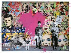 Mr Brainwash: Banksy's street-art protégé and his latest brainwave Charlie Chaplin, Mr Brainwash Art, Artist Materials, Pop Art Posters, Band Posters, Kunst Poster, Street Art Graffiti, Chalk Art, Street Artists