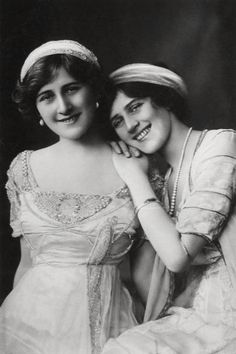 Phyllis and Zena Dare, c.1910