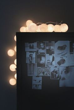 Jennifers cabinet + lights. Perfect!