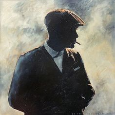 Image result for peaky blinders watercolour