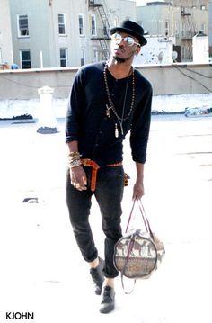 Cheap Monday Shirt, Kill City Jeans, Diesel Shirt, Vintage Glasse, Vintage Bag, Ralph Lauren Belt