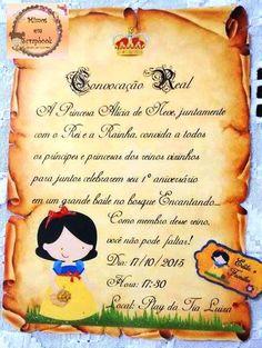 CONVITE PARA FESTA DE ANIVERSÁRIO, NOIVADO, CASAMENTO, NO FORMATO DE PERGAMINHO, FEITO EM PAPEL FOTOGRÁFICO, NO TAMANHO 15 x 10 cm.