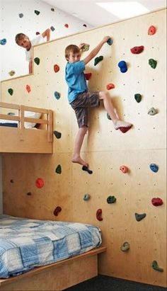 mommo design: CLIMBING WALLS