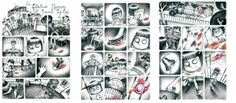 planche de bande dessinée sélectionnée pour le concours jeunes talents d'Angoulême
