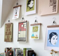 Some not-too-shabby alternatives to poster hanging. When your landlord/mom is being strict.