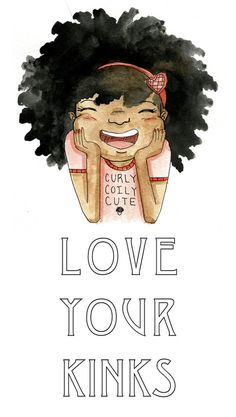 {Grow Lust Worthy Hair FASTER Naturally}        ========================== Go To:   www.HairTriggerr.com ==========================    'Love my kinks' art by Sharee Miller.