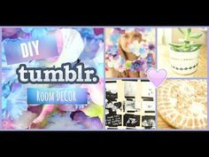 DIY Tumblr Room Decor - YouTube