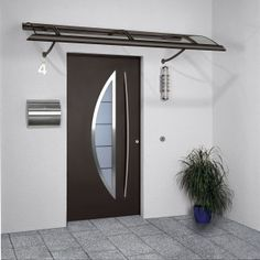 Make an entrance with a new front door! We have a great range of top quality front doors in a good selection of colours, finishes and endless options to make it look as you really want. Contemporary Front Doors, Modern Front Door, Front Door Design, Modern Contemporary, Aluminium Glass Door, Aluminium Front Door, Front Door Entrance, Entry Doors, Front Entry