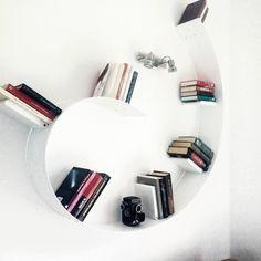 White | Bookworm by Ron Arad