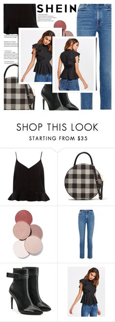 """Untitled #1653"" by sibanesly ❤ liked on Polyvore featuring River Island, Mansur Gavriel, LunatiCK Cosmetic Labs, Khaite and Off-White"
