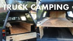 Truck Camping - A Guide to Outfitting and Living in the Back of Your Pickup