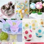 30 Days of FREE Party Printables: Day 21 - Happy Easter Tags   Quick and Simple Easter Marshmallow Lollipops by Bird's Party