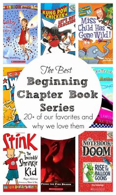 Are you looking for a good chapter book series for kids in grades 1-3? You'll love this post!