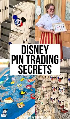 8 Insanely Useful Disney Pin Trading Tips - Disney Trippers Disney World Secrets, Disney World Parks, Disney World Tips And Tricks, Disney Tips, Disney Fun, Disney Magic, Disney Travel, Disney Surprise, Disney Ideas