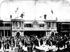 Madame Melba Visiting the Metropolitan Fire Brigade Station November 1902