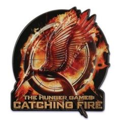 The Hunger Games Catching Fire Cake Topper Plac Hunger Games Mockingjay, Hunger Games Catching Fire, Hunger Games Trilogy, Edible Cupcake Toppers, Cupcake Cakes, Fire Cake, Hunger Games Party, Cake Supplies, Cake Decorating