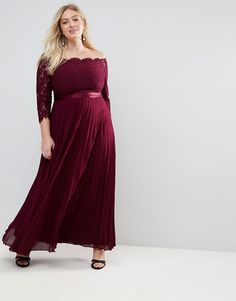 Browse online for the newest Coast Plus Imi Lace Bodice Maxi Dress With Pleated Skirt styles. Shop easier with ASOS' multiple payments and return options (Ts&Cs apply). Bridesmaid Dresses Plus Size, Burgundy Bridesmaid Dresses, Pleated Wedding Dresses, Formal Dresses, Lace Bodice, Lace Dress, Asos, Bridesmaid Inspiration, Full Length Skirts