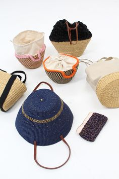 Muun Straw Natural Combo Bag