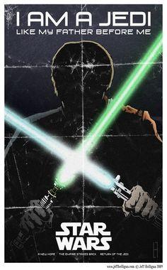 I am a Jedi  created by Jeff Hulligan