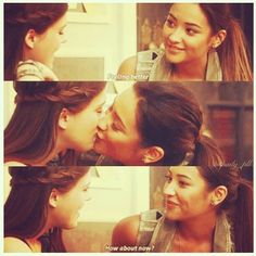 Paily.. Couple Amazing pretty Little Liars Emily and Paige.. Shay Mitchell & Lindsey Shaw