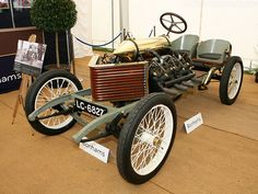 Incredible 1905 Darracq Land Speed Record Car