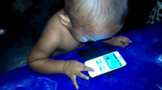 Baby funny videos  with smartphone   Cute Baby Videos 2016