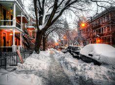 Hiver, Montréal