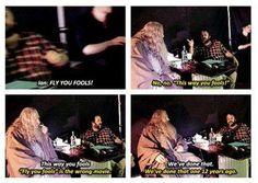 """Ha ha Ian and Peter discussing """"Fools"""" !!"""