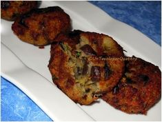 A Table for Four: Eggplant meatballs (no eggs)