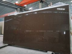 Quartz slabs F8, Starry Chocolate