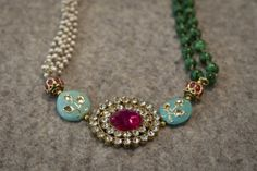 Rosena Sammi Jewelry collection of bracelets, earrings and necklaces fuse glamorous Indian design elements with a modern aesthetic.
