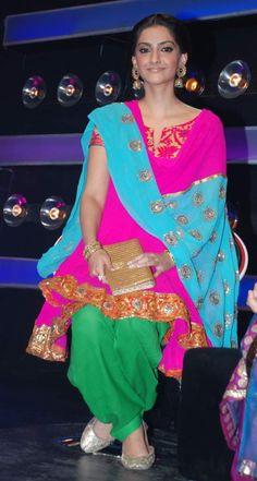 Sonam In Punjabi Suit