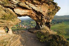 L'arche du Wachtfels à <i>Obersteinbach</i>
