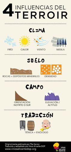 4 influencias del #terruño o #terroir