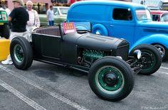 1926 Ford Model T roadster - mod - black - fvr by Pat Durkin - Orange County, CA, via Flickr