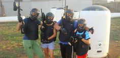 #paintball in #famiglia