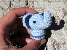 elephant by lamebaverde - handmade - organic cotton