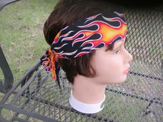 Men Womens Teen Unisex  Biker Chemo OLd SCHOOl FLAMEs by silcoon52, $6.99