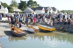 Inauguration of the  Salorge and launching   of the first-built boats  | Skol ar Mor