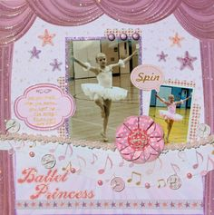 Best creations ballet Princess | Best Creation Inc - Ballet Princess Collection - 12 x 12 Double Sided ...