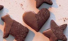 Pfeffer-Schoggi-Guetzli - Rezepte - Schweizer Milch Biscuits, Gingerbread Cookies, Bakery, Cupcakes, Desserts, Christmas, Ajouter, Food, Butter