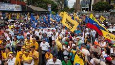 Marcha opositora incrementa incertidumbre en venezuela
