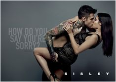 Discover the faces of the new Sisley Spring Summer 2015 Campaign : the talented Italian rapper Fedez and his sensual girlfriend Giulia Valentina. Couple Photoshoot Poses, Couple Photography Poses, Couple Posing, Couple Shoot, Sisley Fashion, Brand Magazine, Magazine Ads, Kiss And Romance, Best Online Fashion Stores