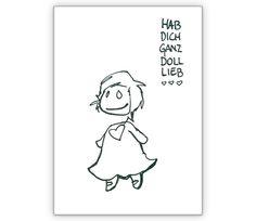 Herzerlmädl Liebeskarte: Hab Dich ganz doll lieb - http://www.1agrusskarten.de/shop/herzerlmadl-liebeskarte-hab-dich-ganz-doll-lieb/    00019_0_1230, Gratulation zum Mädchen, Grußkarte, Herz, Klappkarte, Liebe, Liebeskarte, Romantik, Valentinskarte, Valentinskarten00019_0_1230, Gratulation zum Mädchen, Grußkarte, Herz, Klappkarte, Liebe, Liebeskarte, Romantik, Valentinskarte, Valentinskarten