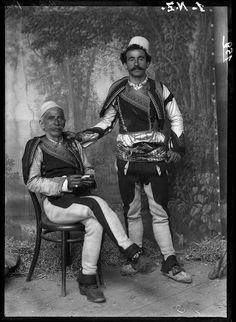 Marubi - Ded Gjo Luli with his son