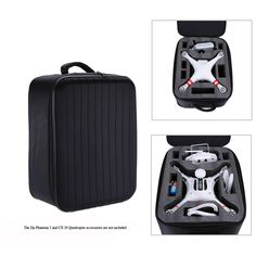 Buying so many RC quadcopter for spending so much money, have you thought about how to protect it?  If not, I want to share this Outdoor Shoulder Backpack #BagCarryCase with you. Just a sentence: It is specially designed for DJI Phantom 3 Quadcopter CX-20 Quadcopter.http://www.tomtop.cc/ZNR3I3